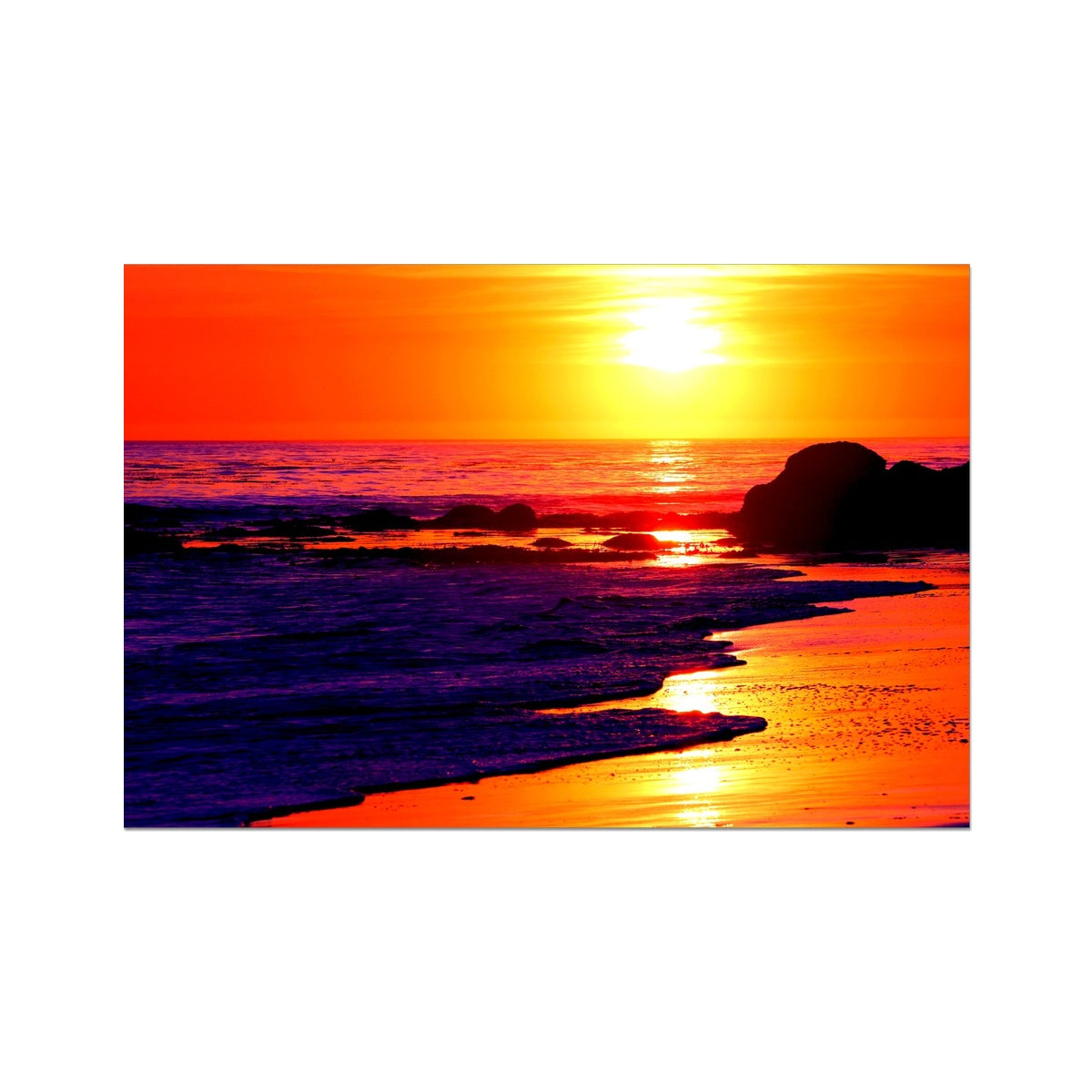 Sunset Dreams - California Photo Art Print