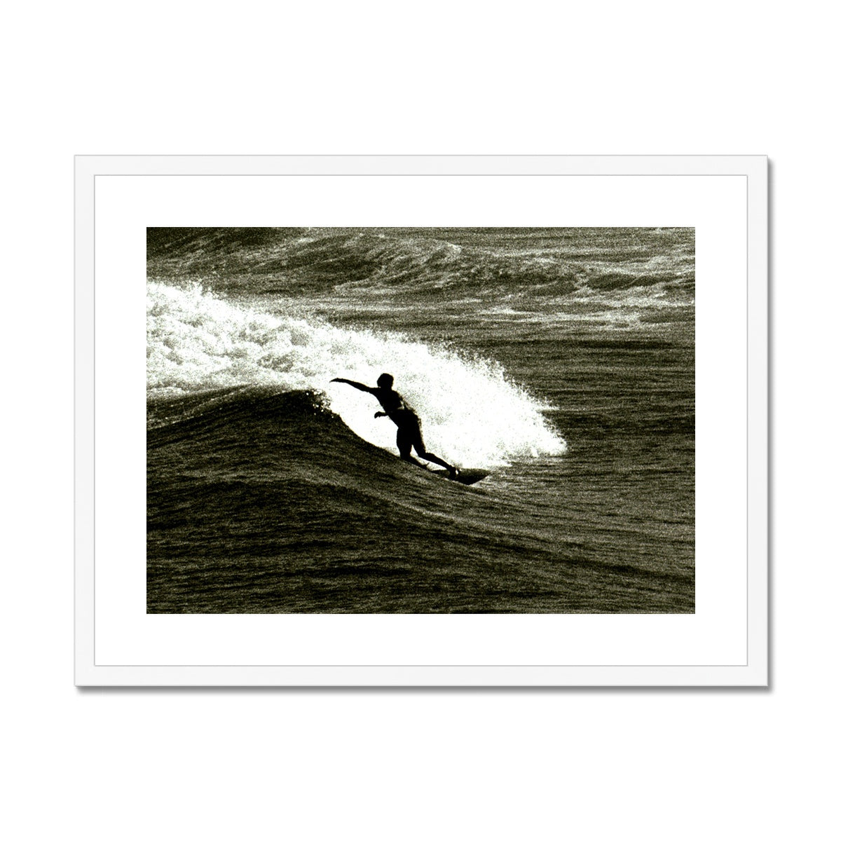 Awesome Surfer - Australia Framed & Mounted Print