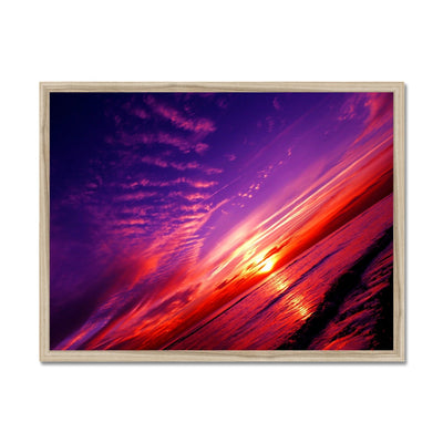 Sunset Dreams Framed Print | Feel Good Images