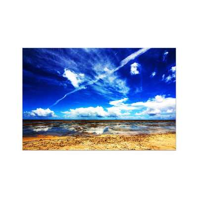 Bahia Electric Aqua Blue II - Brasil - Photo Art Print | Feel Good Images