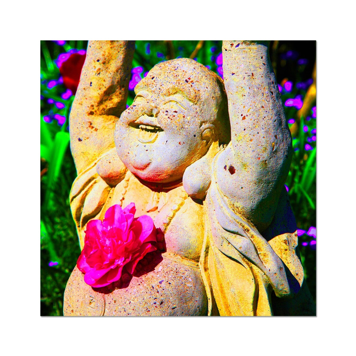 Buddha Joy Photo Art Print