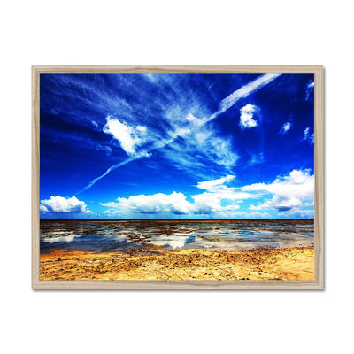 Bahia Electric Aqua Blue II - Brasil - Framed Print | Feel Good Images