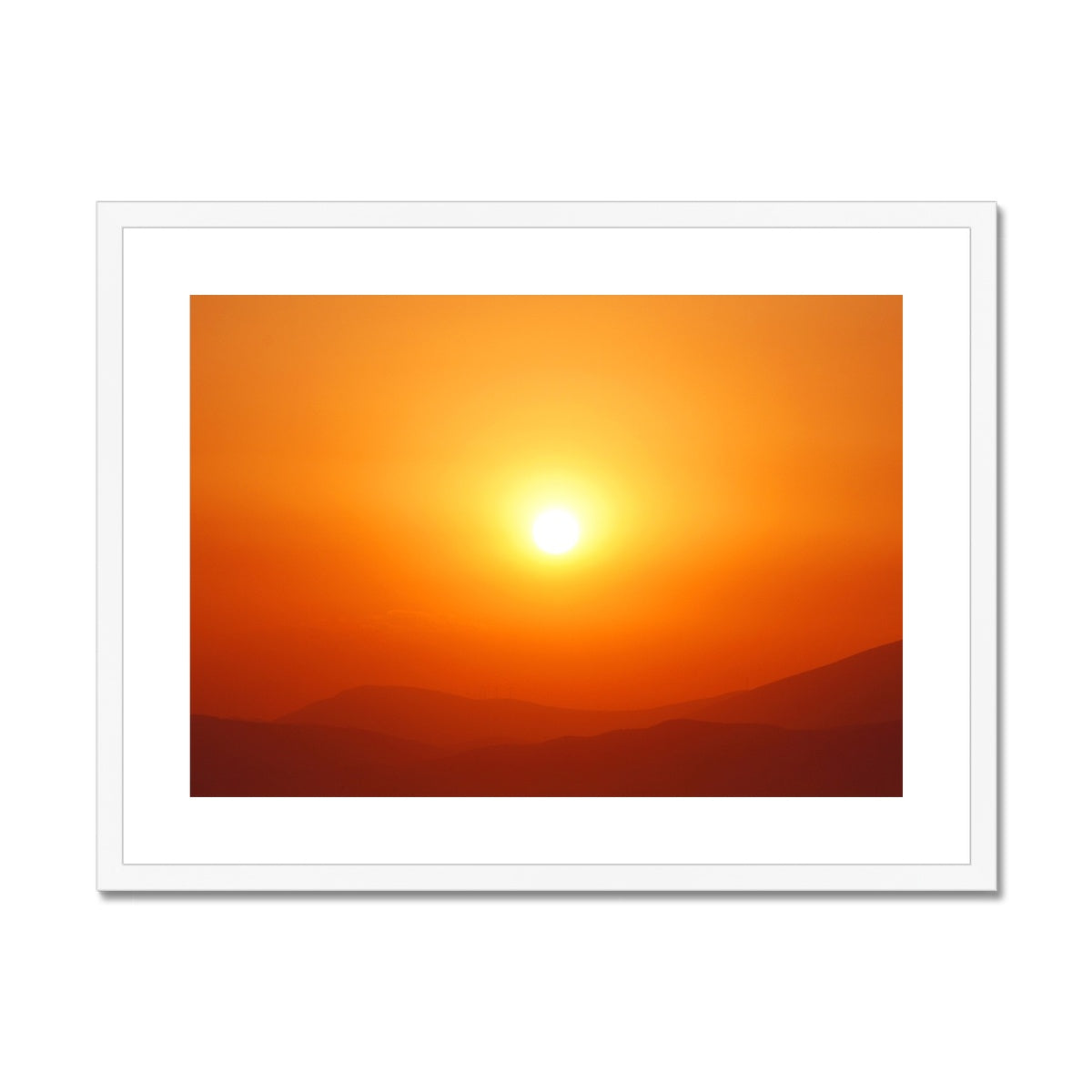 Super Sun Joy - Framed & Mounted Print