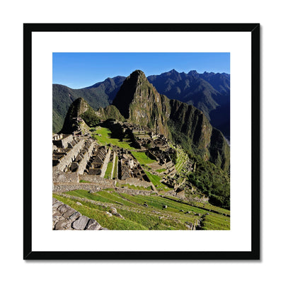 Machu Picchu Framed & Mounted Print | Feel Good Images