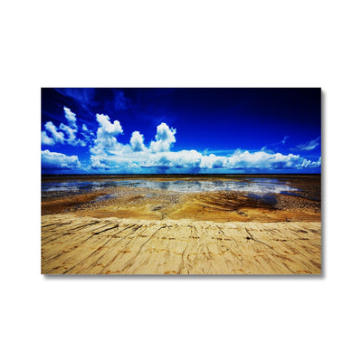 Bahia Electric Aqua Blue - Brasil Canvas | Feel Good Images