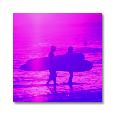 Surf Lovers - Sq Canvas | Feel Good Images