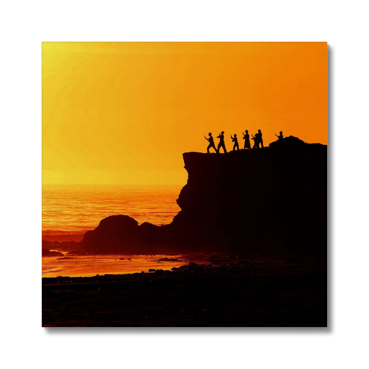 Tai Chi Sunset - Canvas