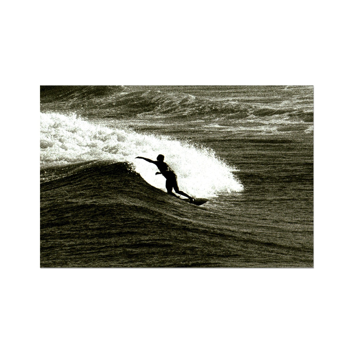 Awesome Surfer - Australia Photo Art Print