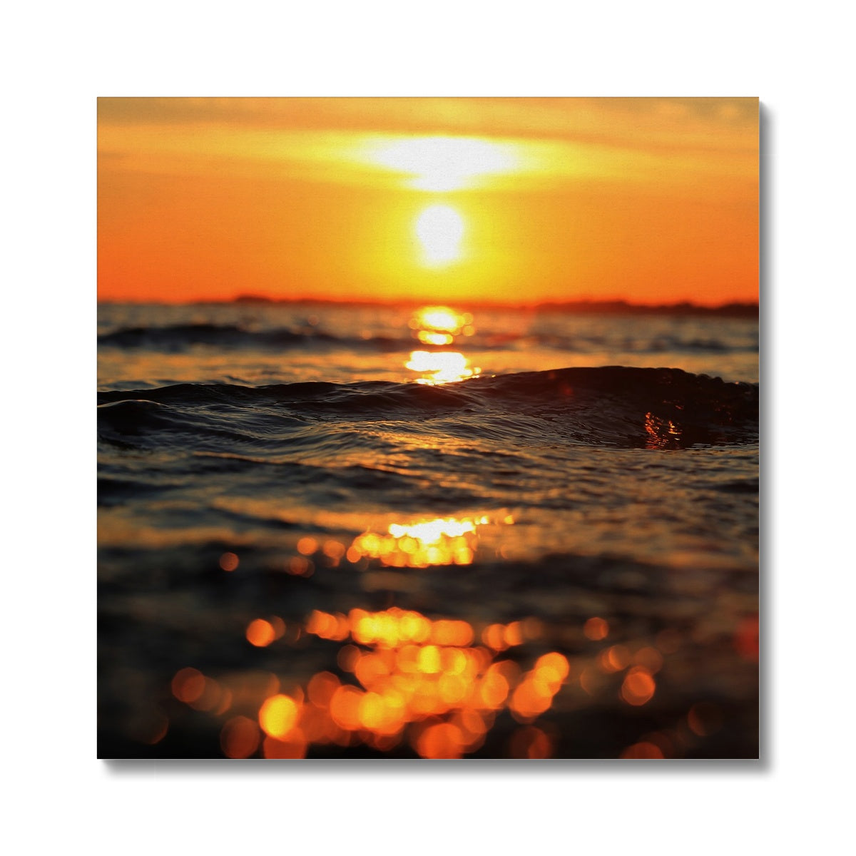 Golden Sea Vibes - Canvas