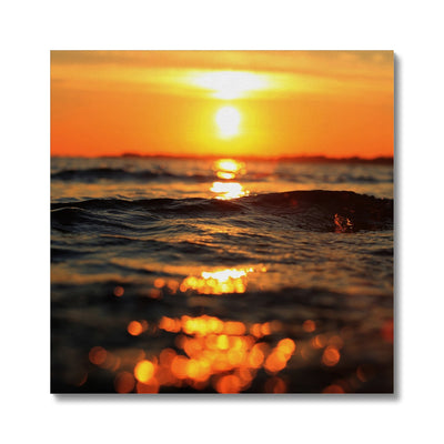 Golden Sea Vibes - Canvas | Feel Good Images