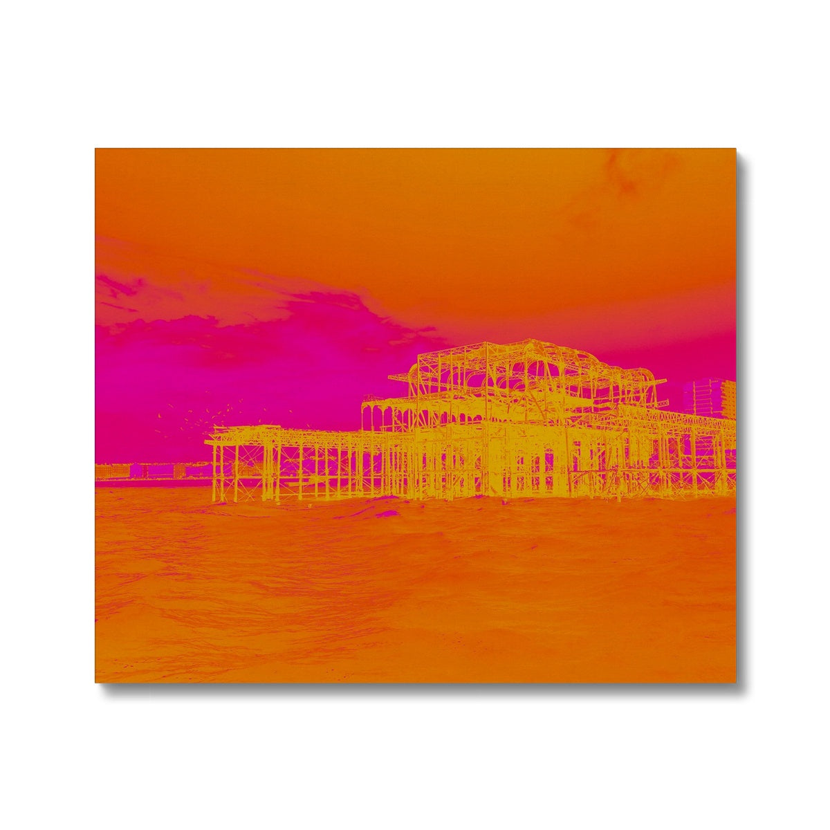 Sunset Ripple Canvas