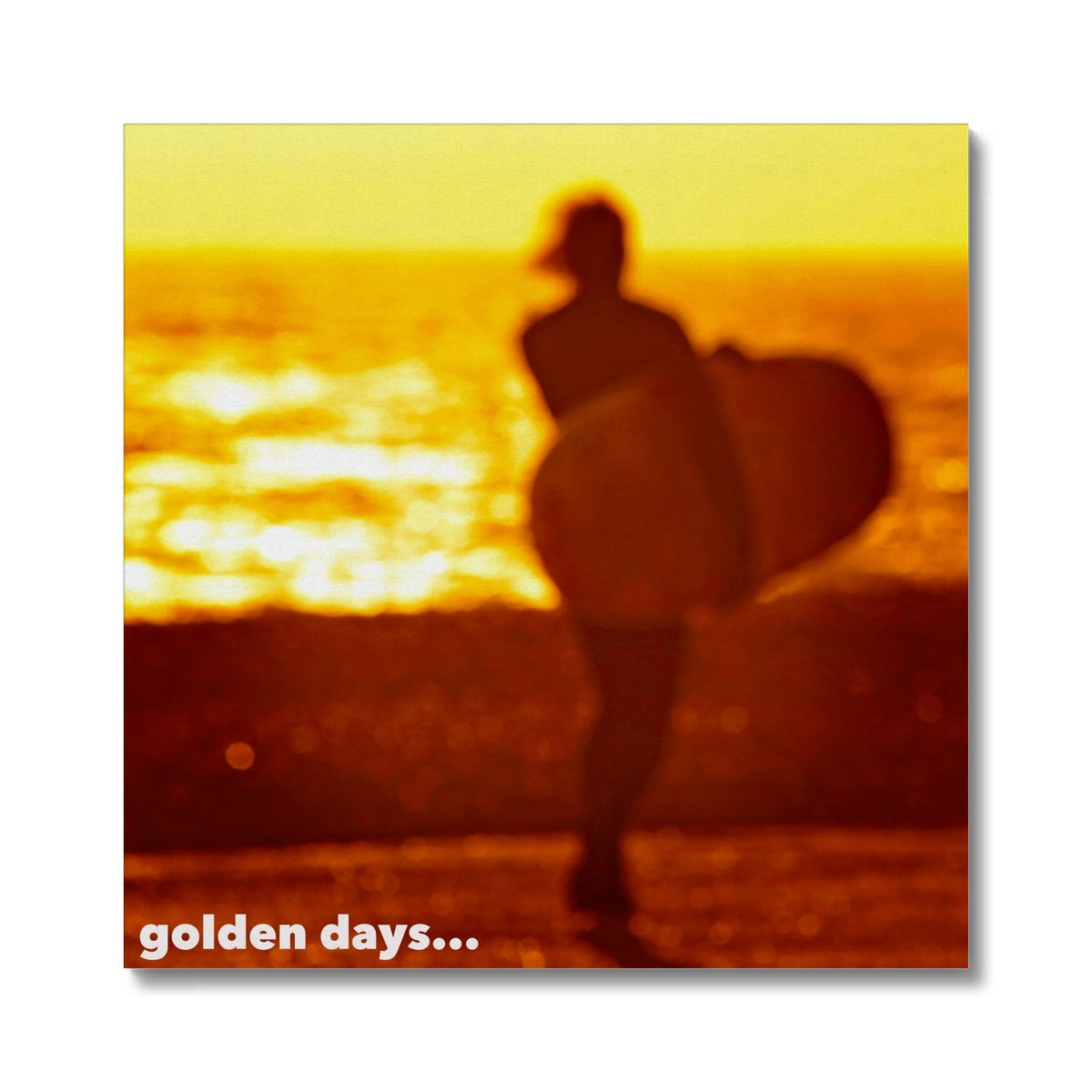 Golden Days Canvas