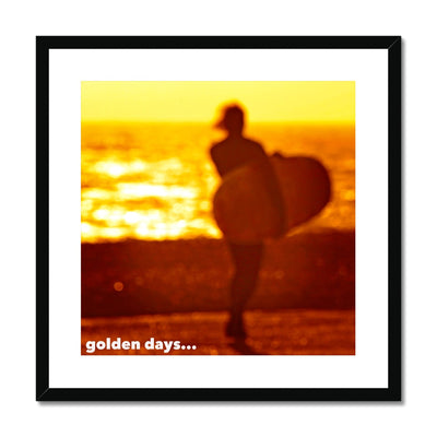 Golden Days Framed & Mounted Print | Feel Good Images