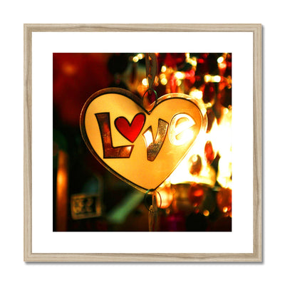 Love Vibes - Framed & Mounted Print | Feel Good Images