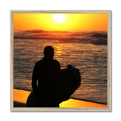 Surf Bliss Joy - Framed Print | Feel Good Images