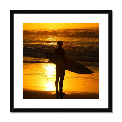 Golden Days - Surf Vision - Framed & Mounted Print | Feel Good Images
