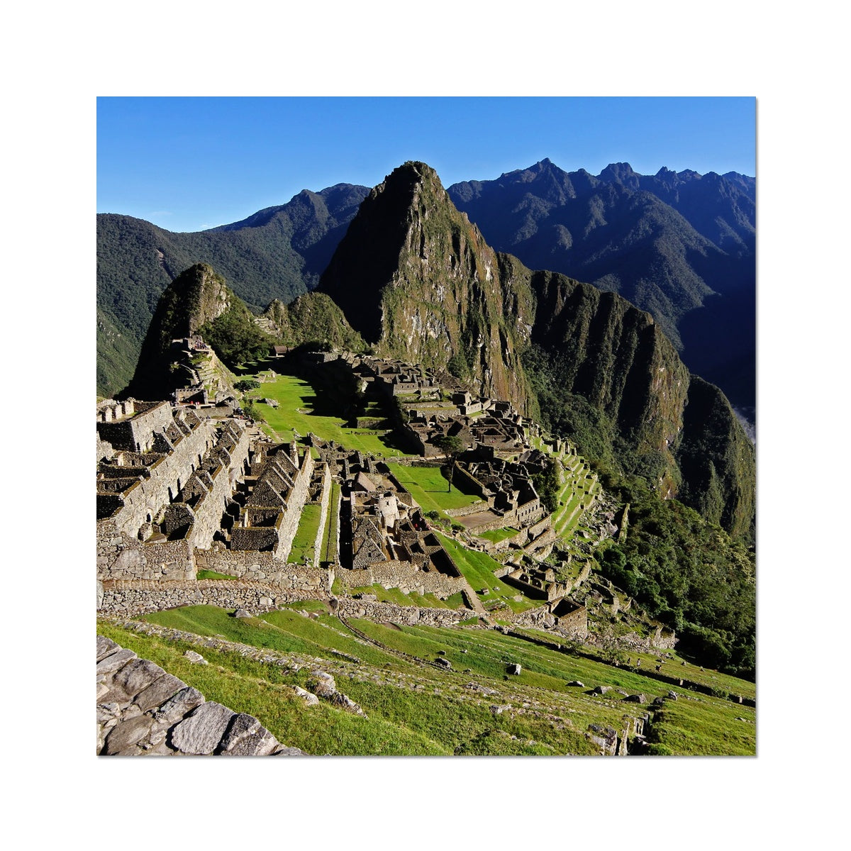 Machu Picchu - Photo Art Print