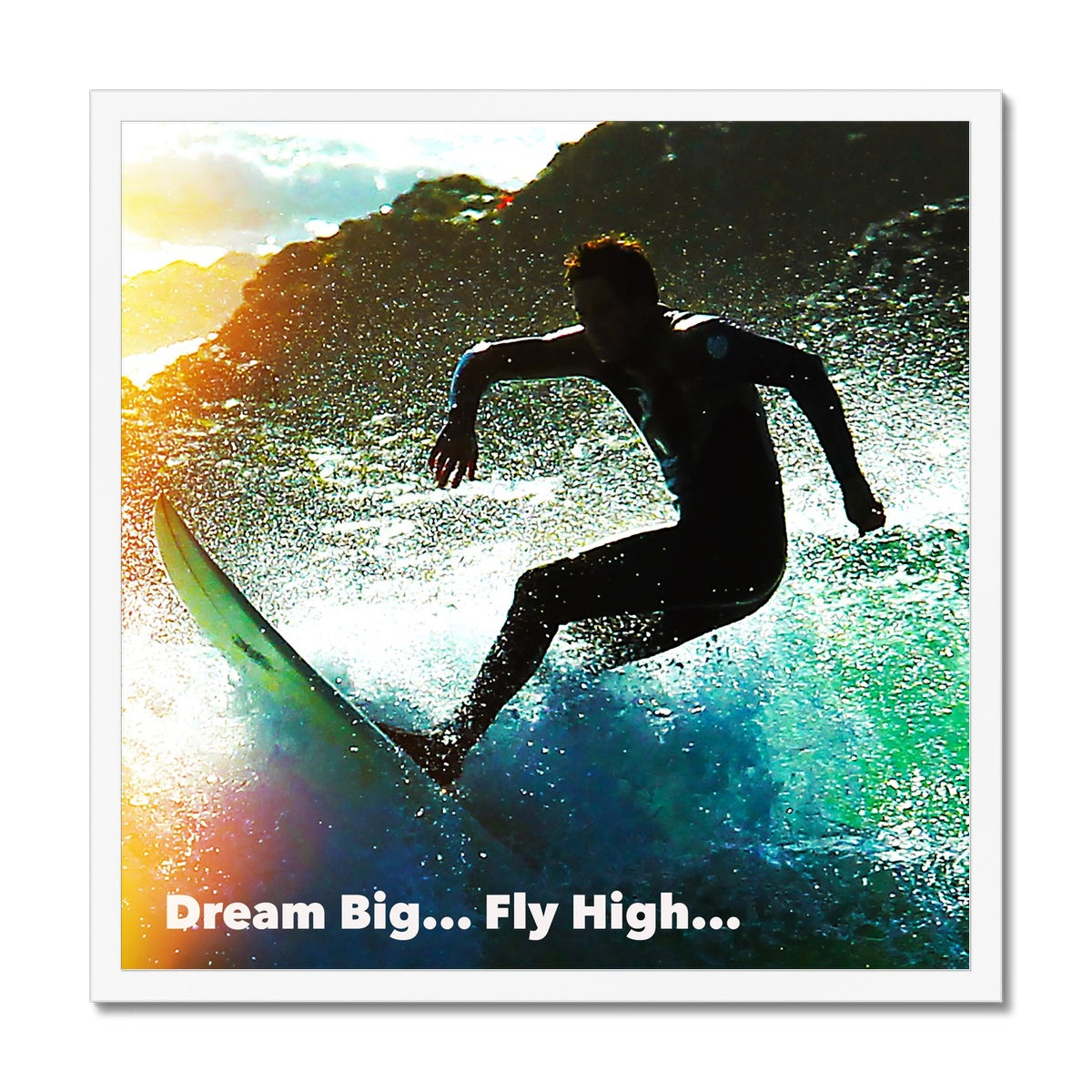Dream Big - Framed Print