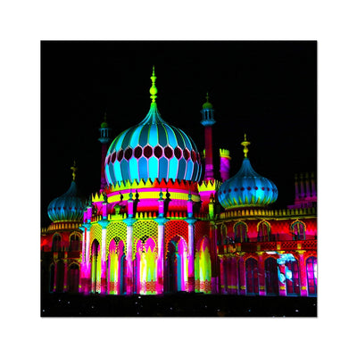 Pavilion Lights Photo Art Print