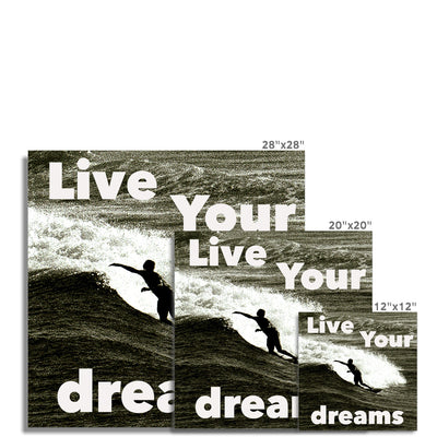 Awesome Surfer - Photo Art Print
