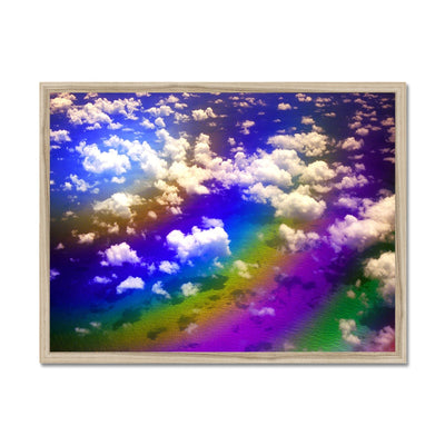 Rainbow Magic - Flying To Venezuela Framed Print | Feel Good Images