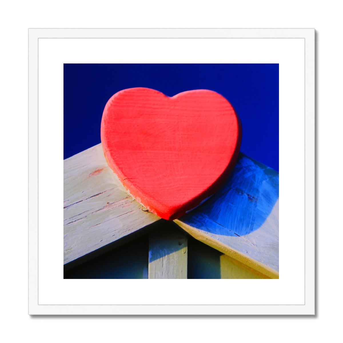 Beach Love Framed & Mounted Print