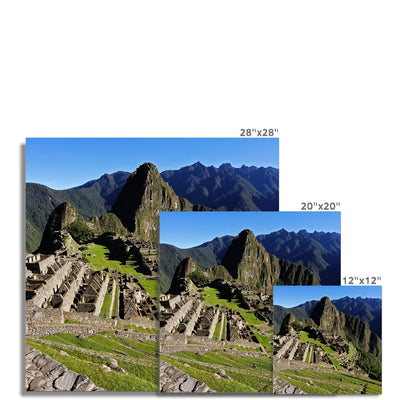 Machu Picchu - Photo Art Print | Feel Good Images