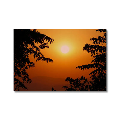 Golden Sun Glow Canvas | Feel Good Images