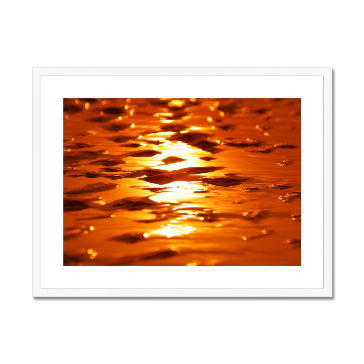 Golden Sands -  Framed & Mounted Print