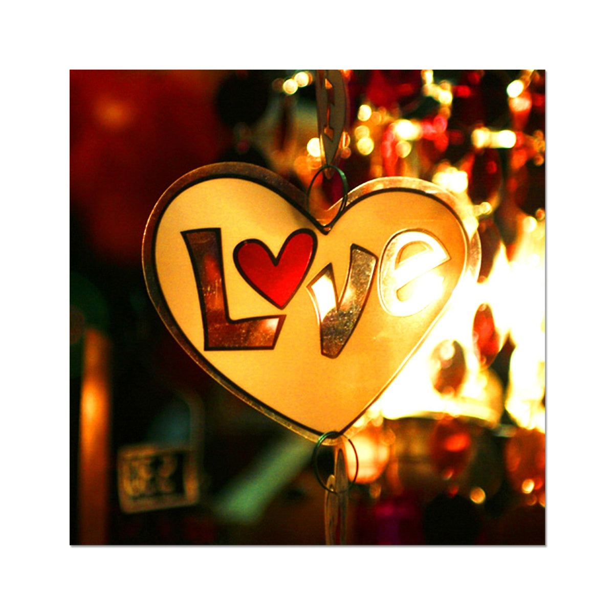 Love Vibes  - Photo Art Print