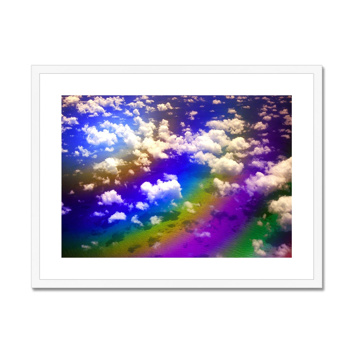 Rainbow Magic - Flying To Venezuela  Framed & Mounted Print