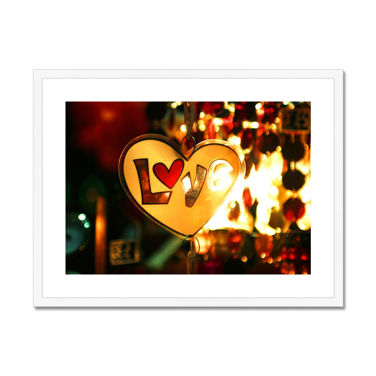Love Vibes Framed & Mounted Print