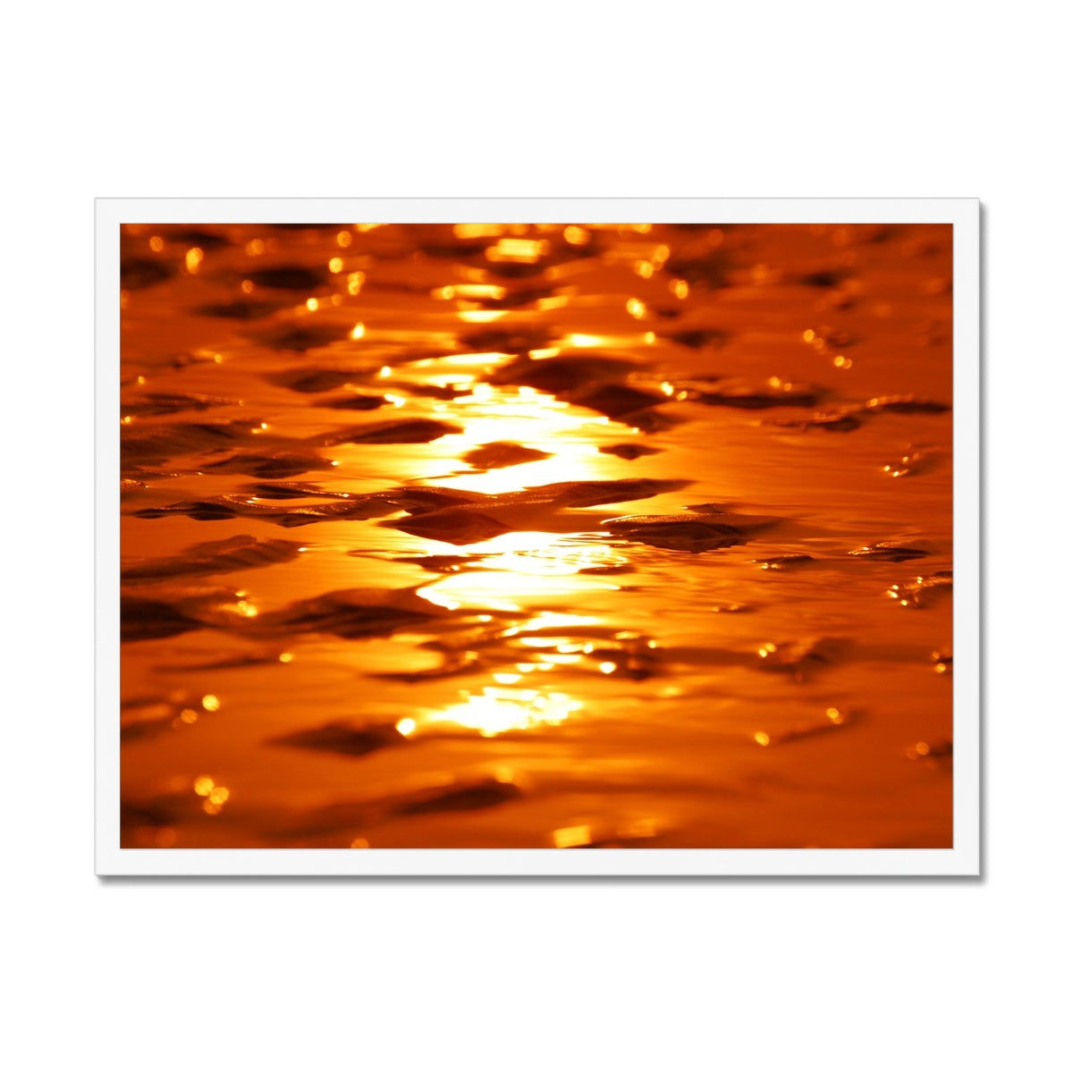 Golden Sands - Framed Print