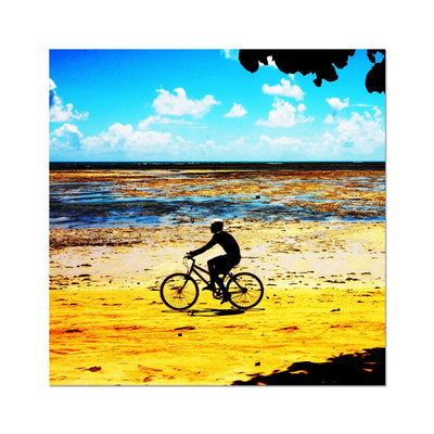 Bahia Bicycle - Square - Photo Art Print