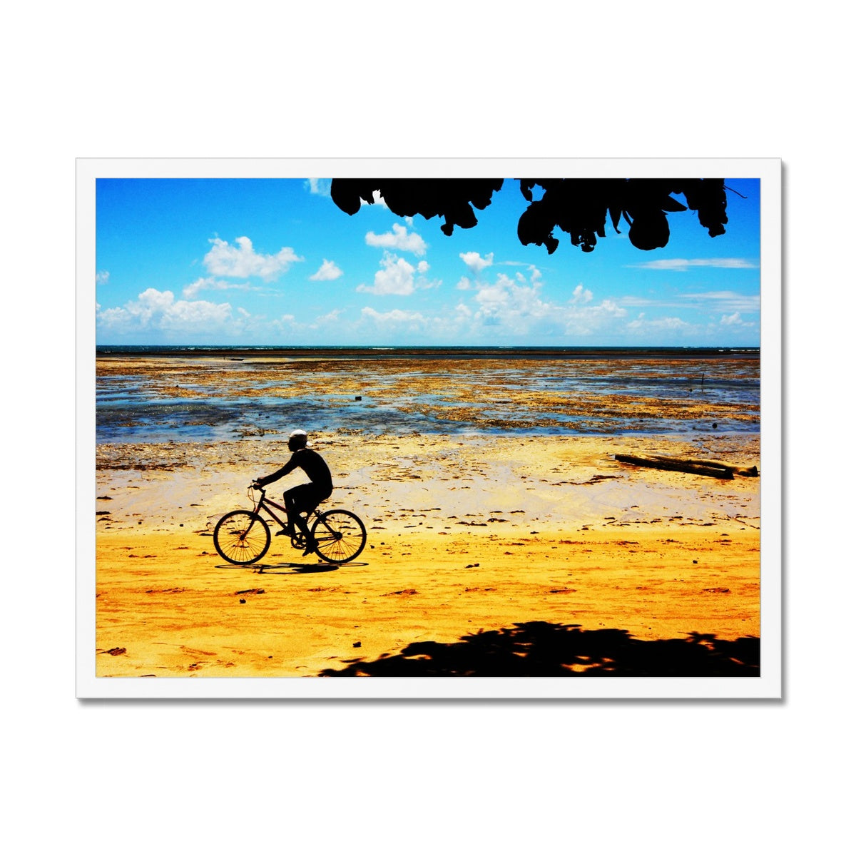 Bahia Bicyle Dreams - Brasil Framed Print