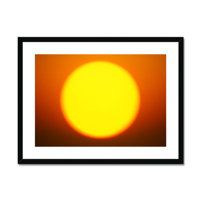 Golden Sun Dreams - Landscape Framed & Mounted Print | Feel Good Images
