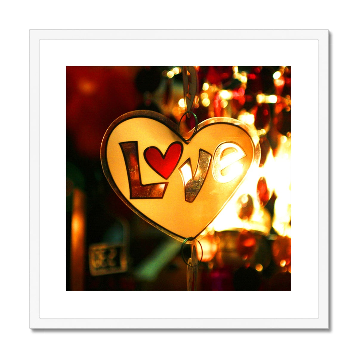 Love Vibes - Framed & Mounted Print