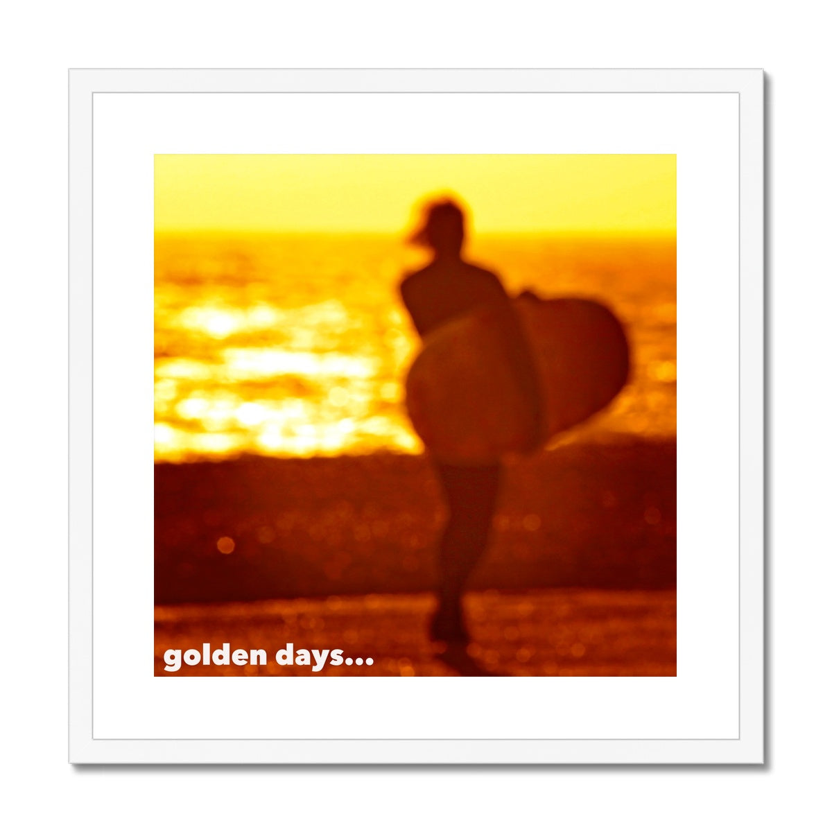 Golden Days Framed & Mounted Print