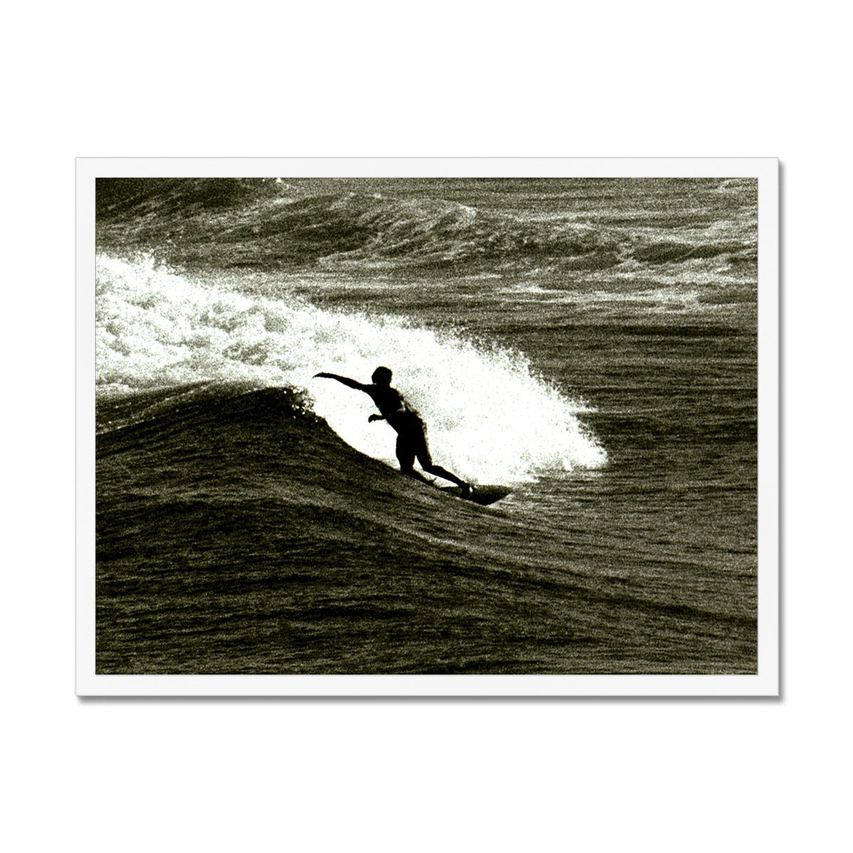 Awesome Surfer - Australia Framed Print