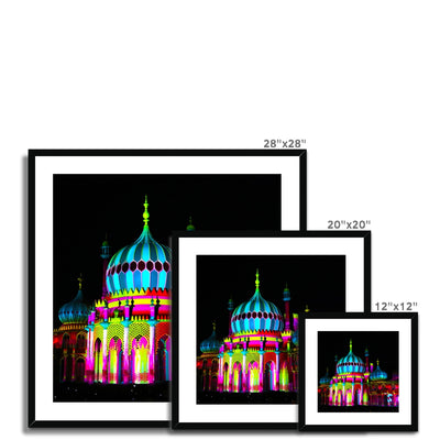 Pavilion Lights Framed & Mounted Print | Feel Good Images
