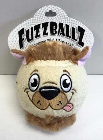 """FuzzBallz"" Dog Toy"