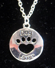 """Dog Lover"" Necklace"