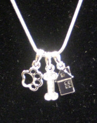 Dog Lovers Charm Necklace