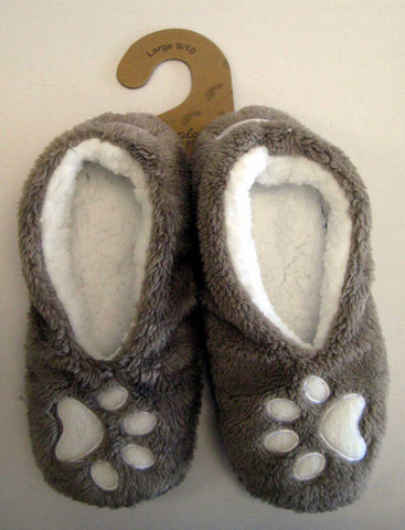 """I Sleep With Dogs"" Slippers"