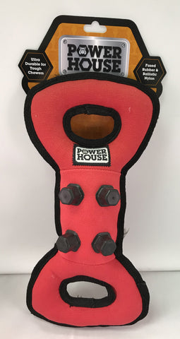 """Power House"" Durable Dog Tug Toy"