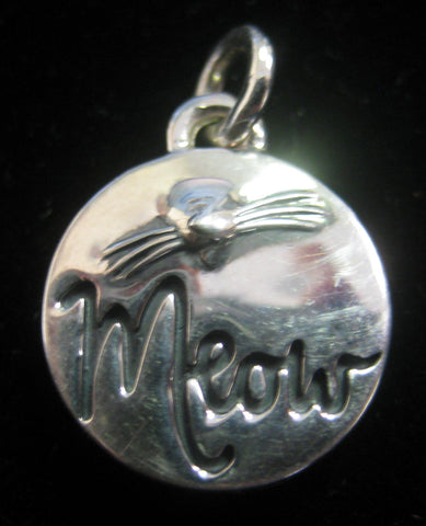 """Meow"" Charm  **NEW**"