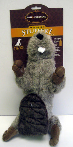 Crunchy Water Bottle Beaver Toy