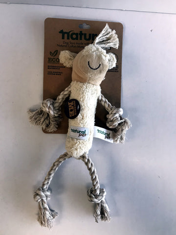 Natural Pet Cow Rope Toy
