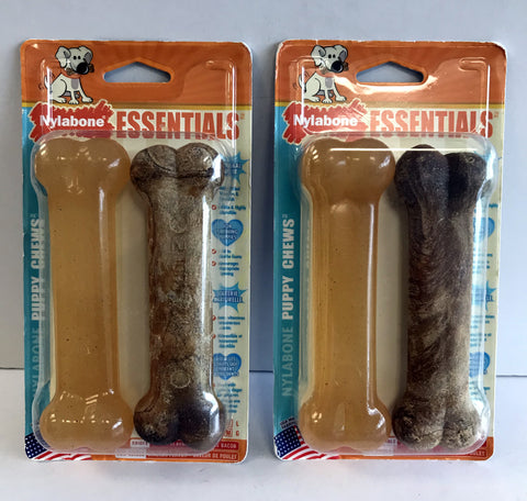 Nylabone Essentials Puppy Chews (2 Packages of 2)