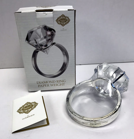 Diamond Ring Paperweight